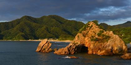 夕方からの岩美町でのお仕事は良い天気が......_b0194185_22153863.jpg