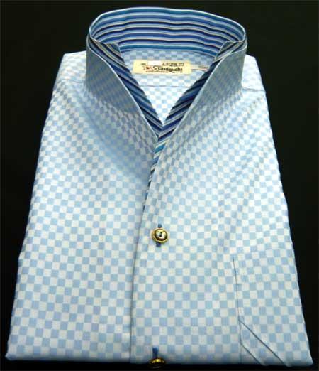 お客様のシャツ ブルー_a0110103_19361519.jpg