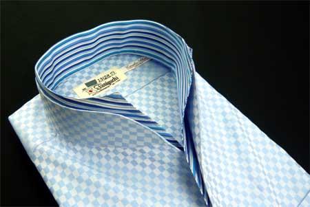 お客様のシャツ ブルー_a0110103_19363716.jpg