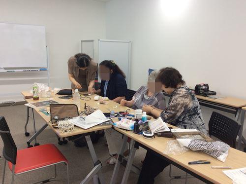 「メタルエンボッシングアート 福岡地区作品展&体験会」_c0357605_17173343.jpg