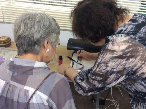 「メタルエンボッシングアート 福岡地区作品展&体験会」_c0357605_17173847.jpg