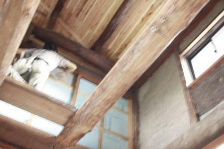 古民家リノベーション~娘の部屋&トイレ_f0208315_23314346.jpg