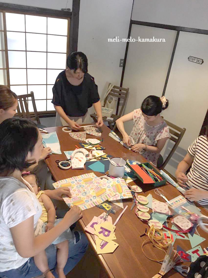 ◆【イベントレポート】 鎌倉・長谷の古民家『蕾の家』でワークショップを行いました♪_f0251032_1438596.jpg