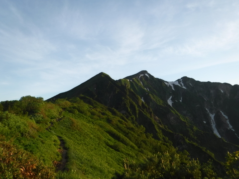 爺ヶ岳・鹿島槍ヶ岳_d0237801_1921119.jpg