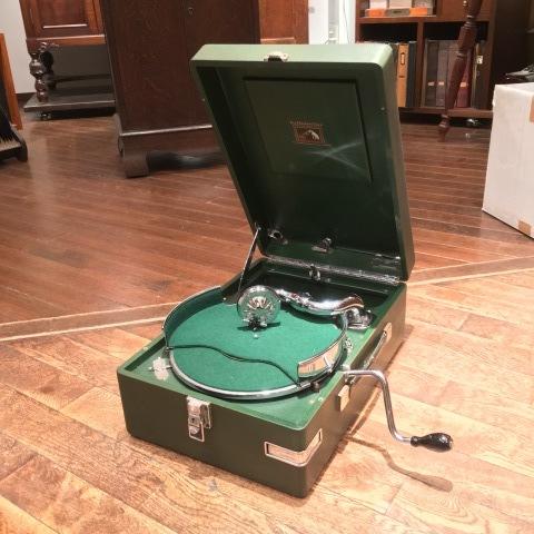 サウンド展の新着蓄音器:HMV102_a0047010_18413026.jpg