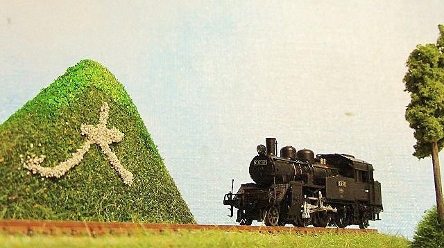 盆ラマ 五山の送り火 「大文字」2点試作品_f0227828_15531133.jpg