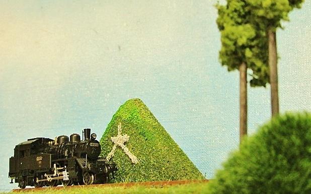 盆ラマ 五山の送り火 「大文字」2点試作品_f0227828_15532053.jpg