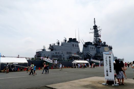 イージス艦こんごう 横須賀音楽隊_c0134734_15371629.jpg