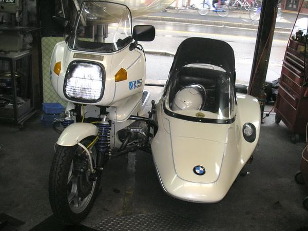 BMW R100RS+サクマエンジニアリング _e0218639_9593090.jpg
