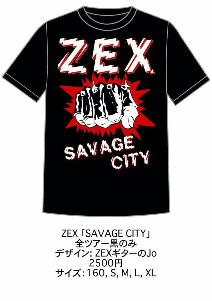 ZEX(CA) 前売り限定ツアーTシャツ発売‼_c0308247_23162520.jpg