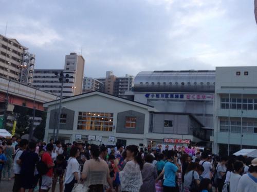 フォークシンガー小象 in小松川夏祭り_f0061797_00464769.jpg