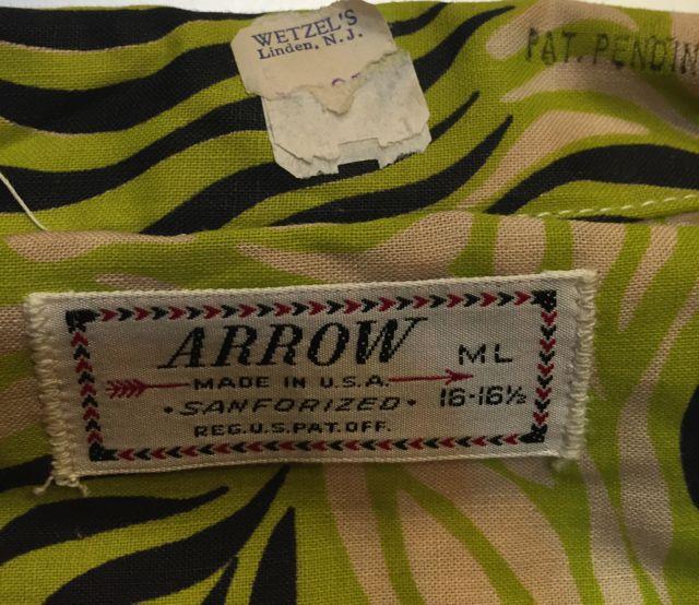 7/23 (土)入荷!!デッドストック 50s Arrow ハワイアンシャツ!!all cotton!!_c0144020_16404977.jpg