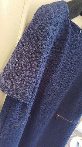 紺の綿ワンピがスタンダード_f0126121_18495849.jpg