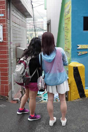 甘川文化村 カムチョンムナマウル(1) 釜山市甘川洞 2016年7月 釜山の旅(1)_f0117059_201041.jpg