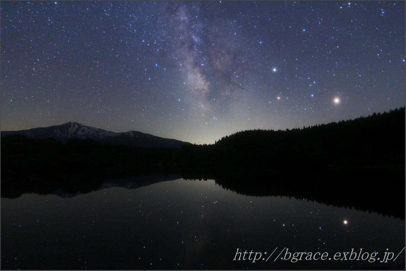 反射する星々_b0191074_21564769.jpg