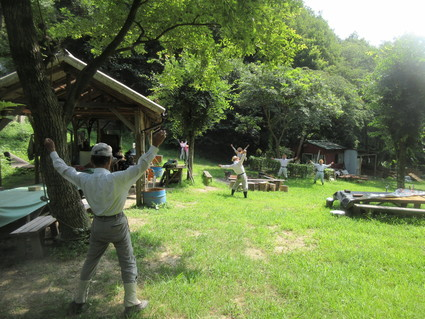 みさき里山クラブ定例活動日・・・孝子の森  by  (ナベサダ)_f0053885_195101.jpg