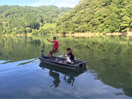 鹿野川ダムに行ってきました〜!(^o^)/_f0142086_10215929.jpg