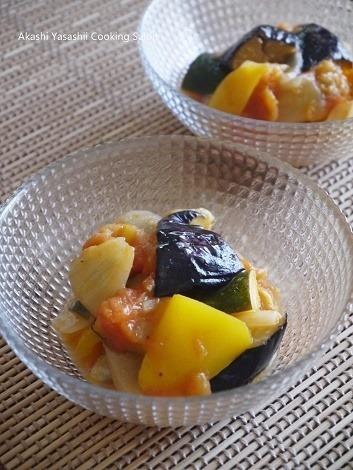 夏野菜のさっぱりトマト煮_f0361692_12065158.jpg