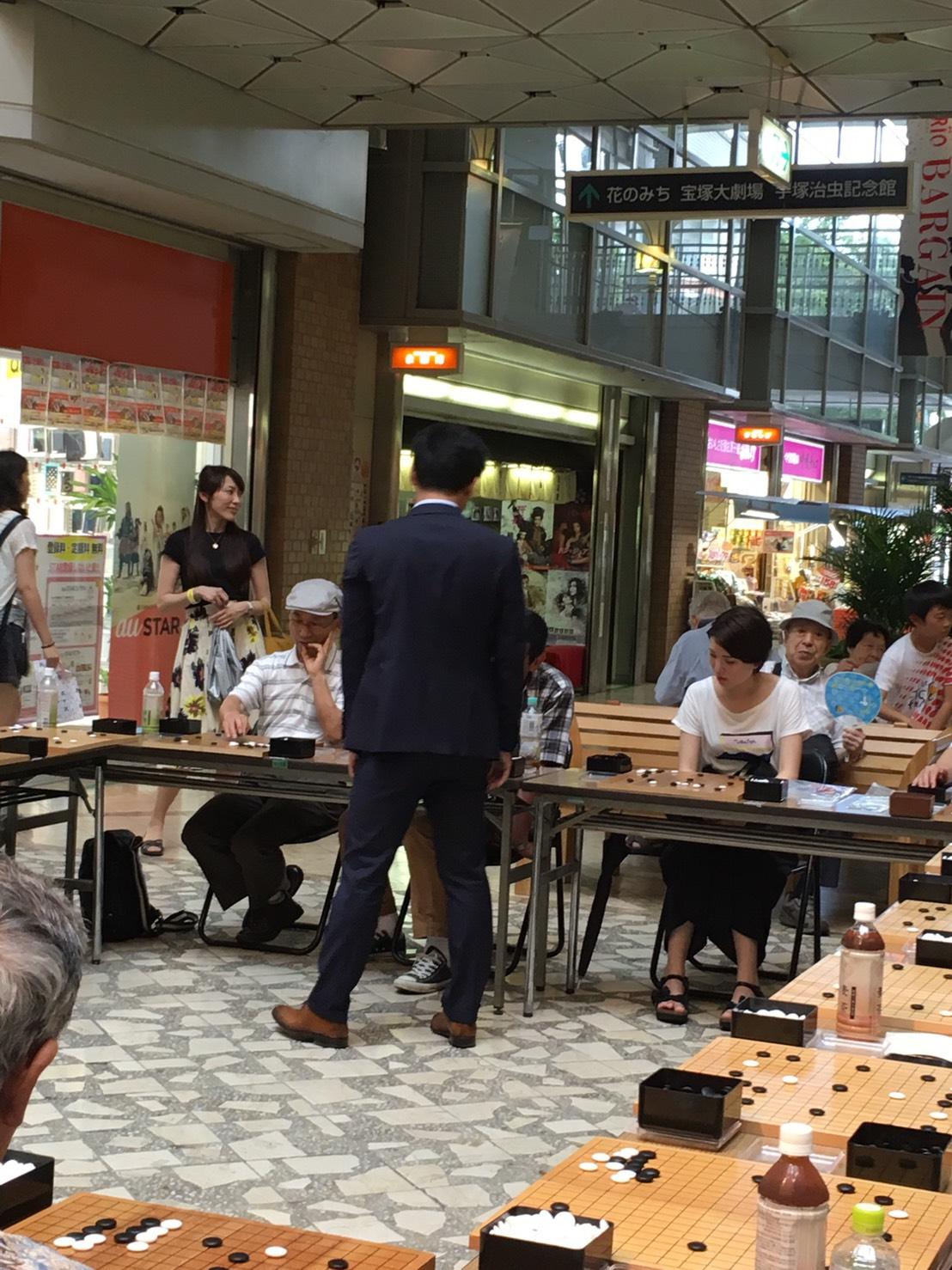 ジャパン碁コングレス~トークショー&18面打ち編~_a0218340_2151563.jpg