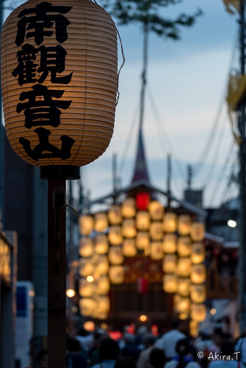 祇園祭2016 後祭・宵々山 〜南観音山〜_f0152550_19405014.jpg