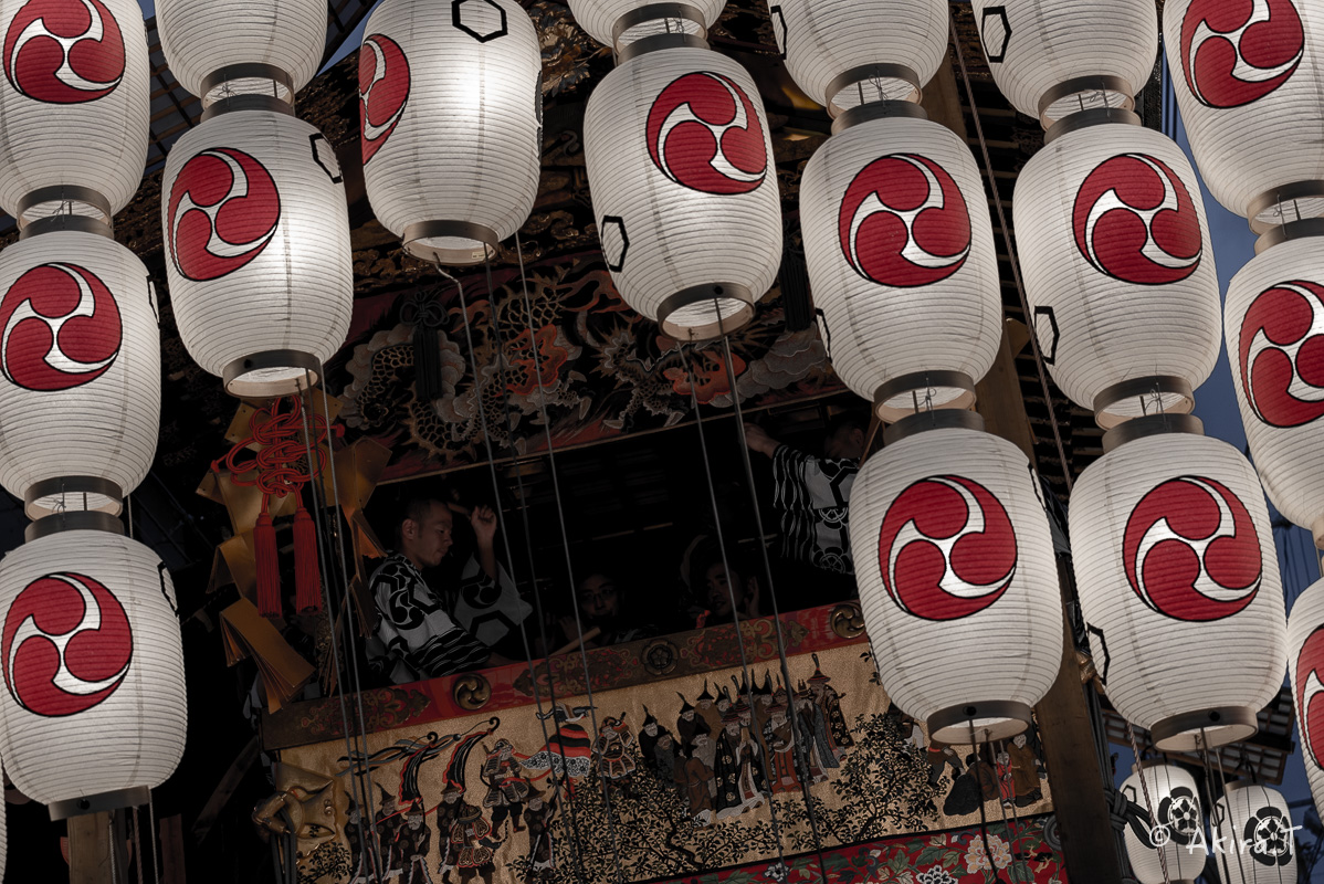 祇園祭2016 後祭・宵々山 〜北観音山〜_f0152550_2126280.jpg
