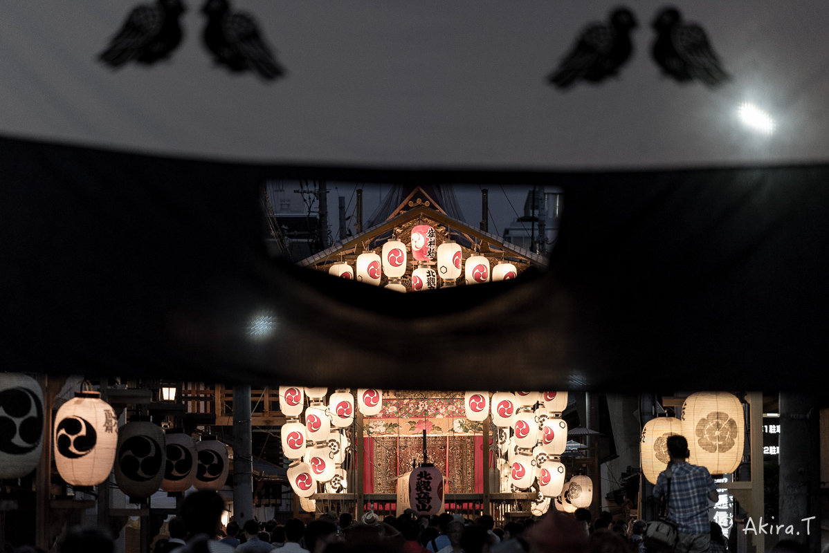 祇園祭2016 後祭・宵々山 〜北観音山〜_f0152550_2127429.jpg