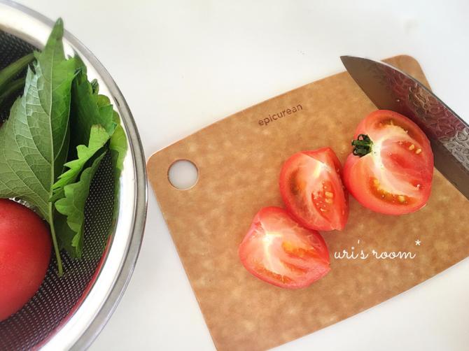 最近仲間入りした便利なキッチンアイテム!それから…息子の国語のノート。_a0341288_22371521.jpg