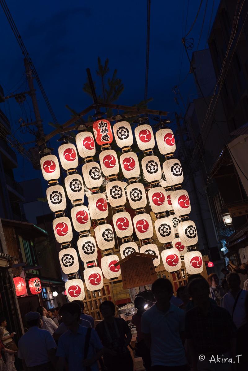 祇園祭2016 後祭・宵々山 〜八幡山〜_f0152550_1729289.jpg
