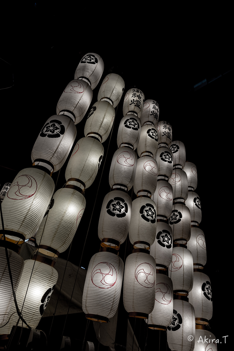 祇園祭2016 後祭・宵々山 〜鯉山・橋弁慶山・鈴鹿山〜_f0152550_21133284.jpg
