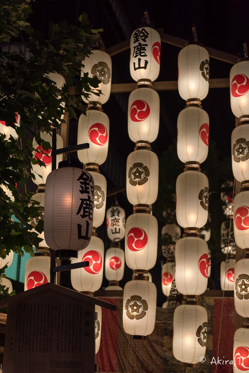 祇園祭2016 後祭・宵々山 〜鯉山・橋弁慶山・鈴鹿山〜_f0152550_21143591.jpg