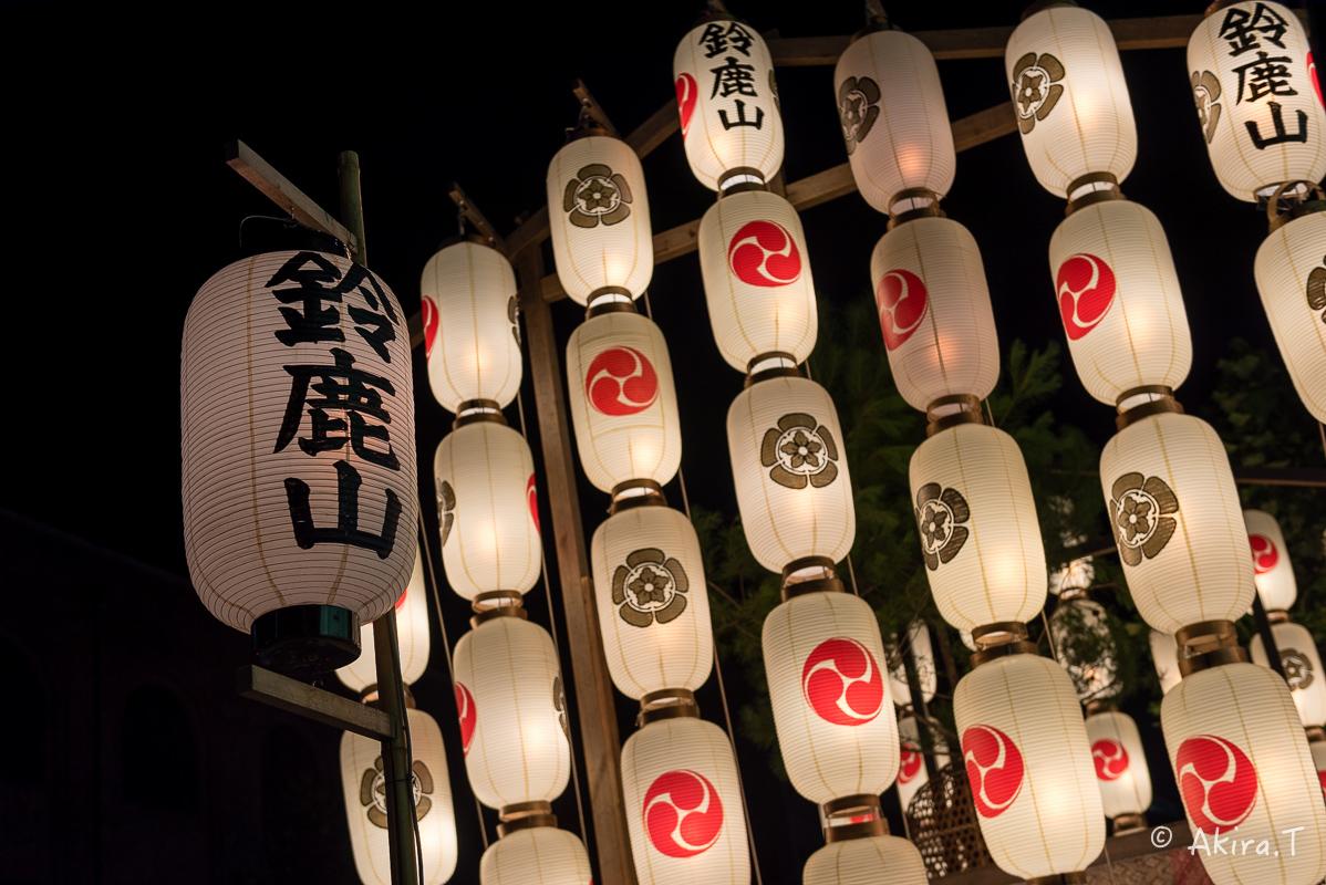 祇園祭2016 後祭・宵々山 〜鯉山・橋弁慶山・鈴鹿山〜_f0152550_2114920.jpg