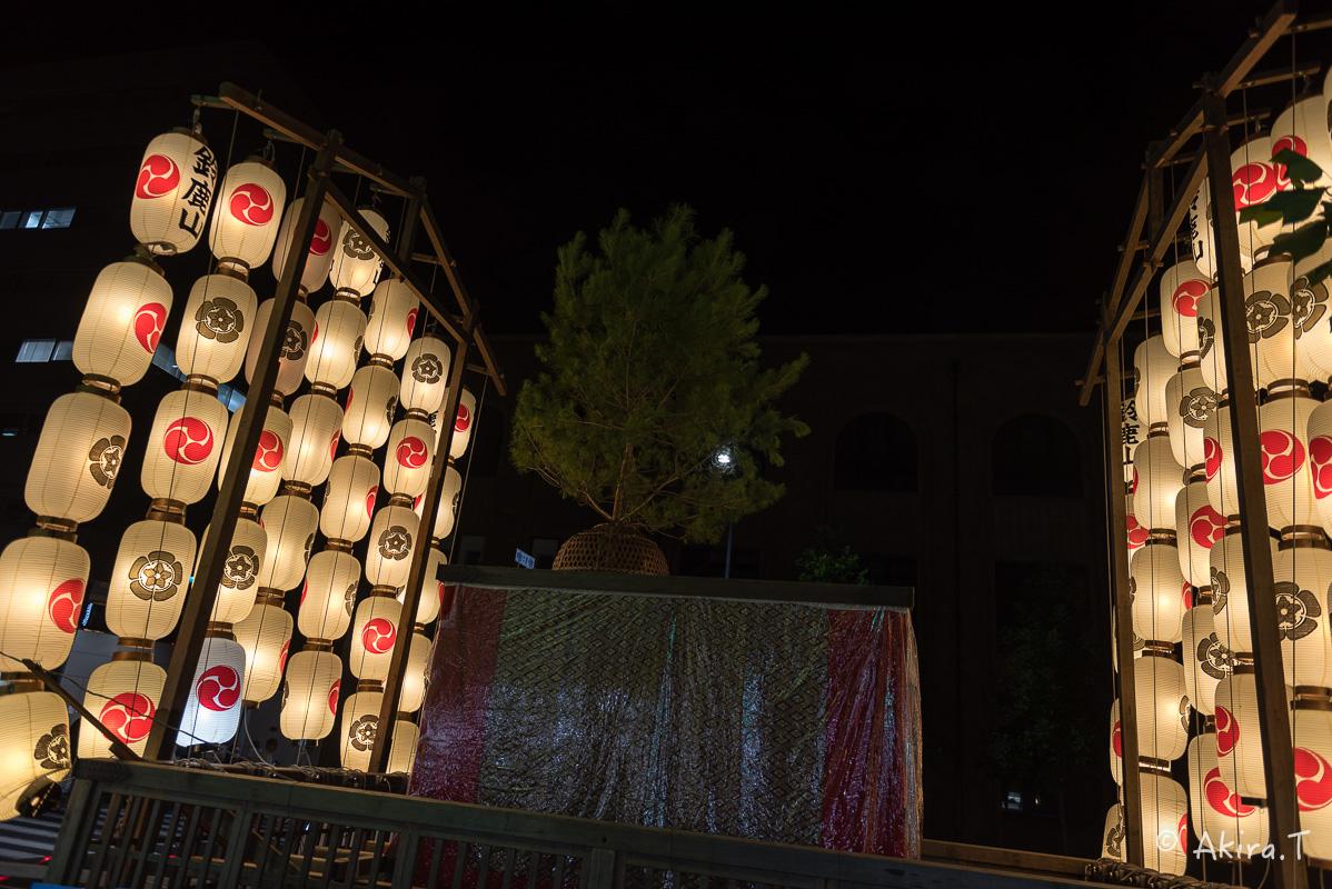 祇園祭2016 後祭・宵々山 〜鯉山・橋弁慶山・鈴鹿山〜_f0152550_2115051.jpg