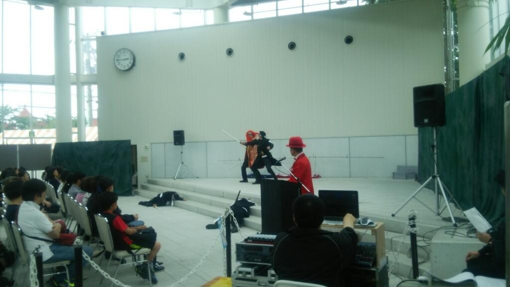 函館野外劇、6日目が終了_b0106766_21242535.jpg