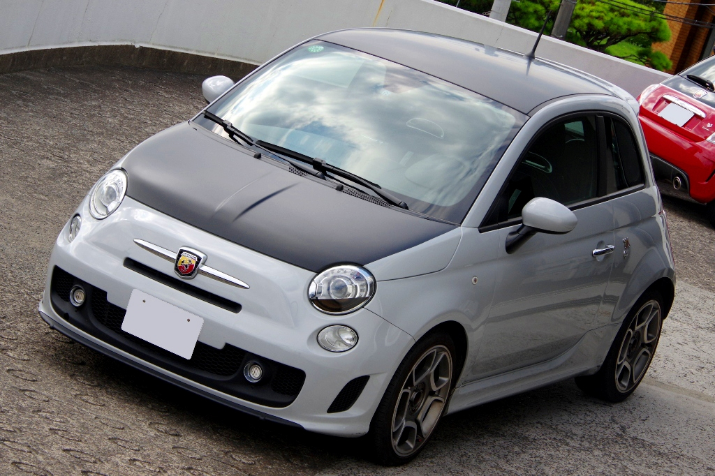ABARTH-Wrapping と バニラ・ラテ_c0005077_2323057.jpg