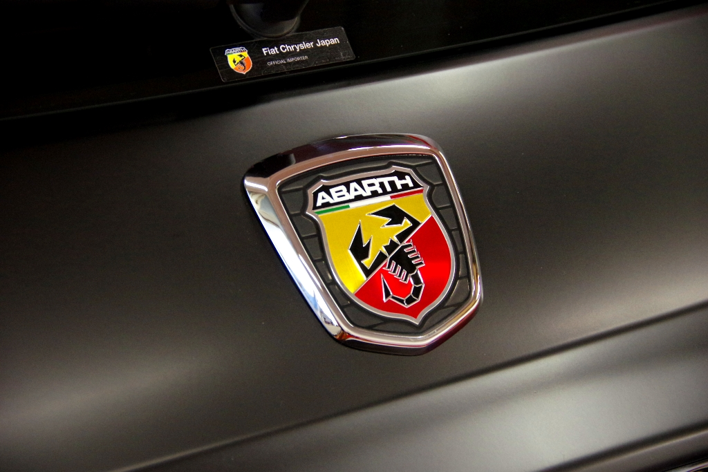 ABARTH-Wrapping と バニラ・ラテ_c0005077_23233652.jpg