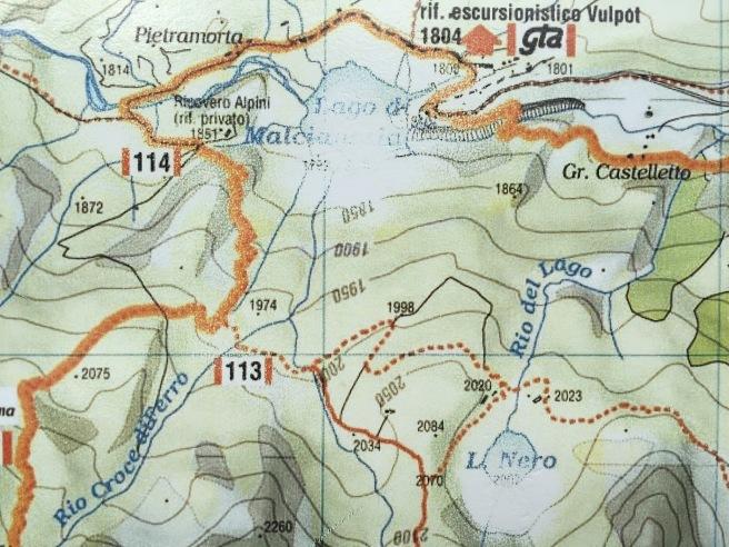 Lago di MALCIAUSSIA - Lago NERO trekking ウッセーリオでトレッキング_b0246303_06180437.jpg