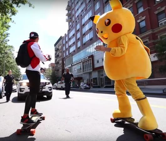 NYの街角でリアル「ポケモンGO」やってみた動画 Pokémon Go IN REAL LIFE_b0007805_0484948.jpg
