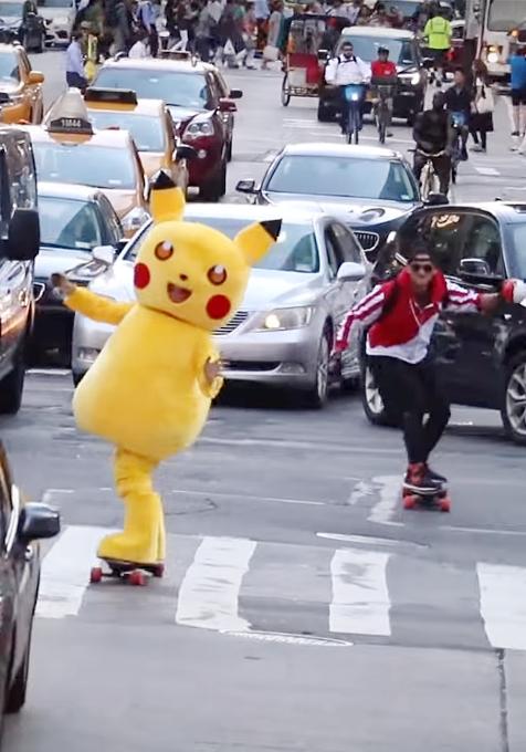 NYの街角でリアル「ポケモンGO」やってみた動画 Pokémon Go IN REAL LIFE_b0007805_1105318.jpg