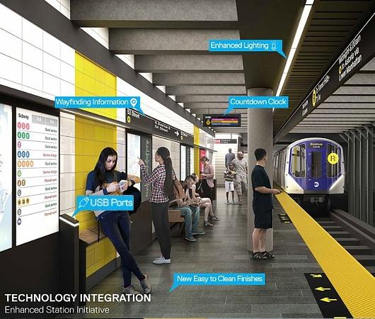 ニューヨークの地下鉄、車両やホームに無料Wi-Fi、充電用USBポート等を増設へ_b0007805_2034557.jpg