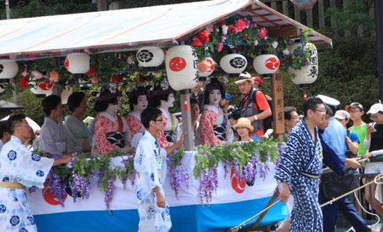 祇園まつり 花傘巡行_e0048413_2014521.jpg