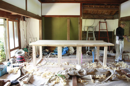 古民家リノベーション~キッチン作り&窓開け_f0208315_23405912.jpg