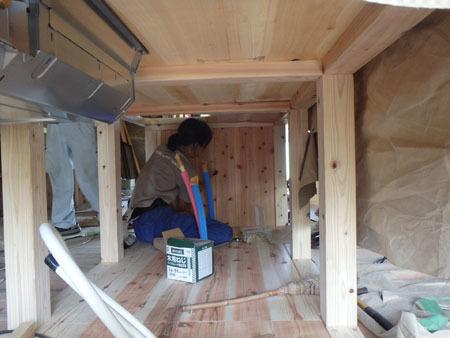 古民家リノベーション~キッチン作り&窓開け_f0208315_23420787.jpg