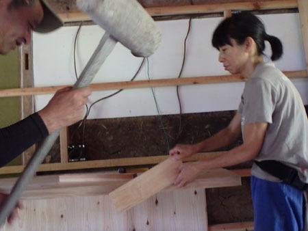 古民家リノベーション~キッチン作り&窓開け_f0208315_23424173.jpg