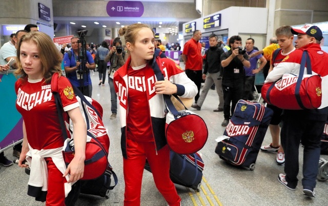Olympic …… ロシア 体操選手団 R...