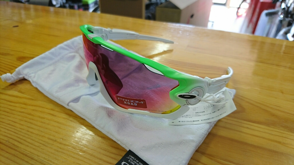 OAKLEY GREEN FADE COLLECTION JAW BREAKER入荷しました!_b0282021_11313715.jpg