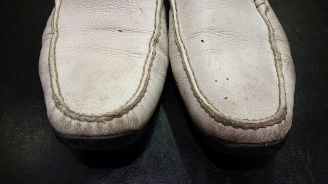 白革の汚れ_b0226322_18283050.jpg