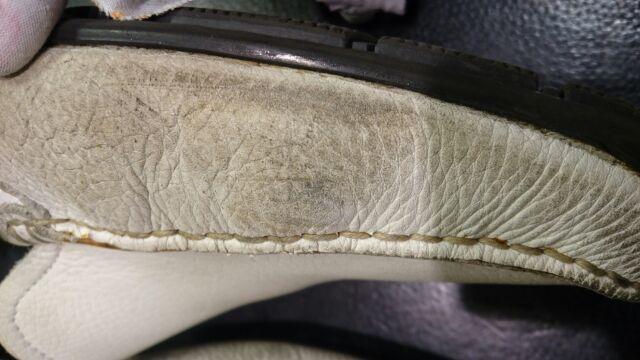 白革の汚れ_b0226322_18330871.jpg