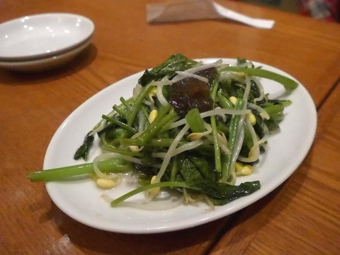 中野「上海料理 蔡菜食堂」へ行く。_f0232060_1693427.jpg