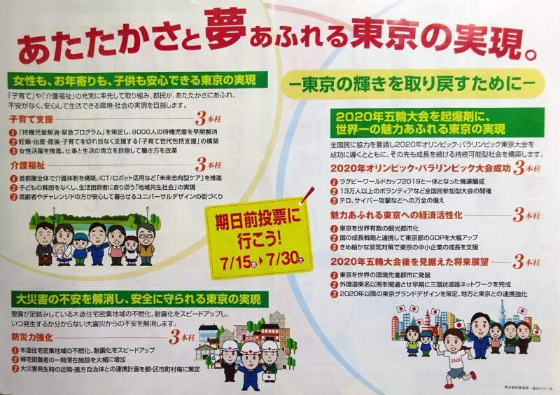 都知事選挙応援活動_f0059673_19472062.jpg