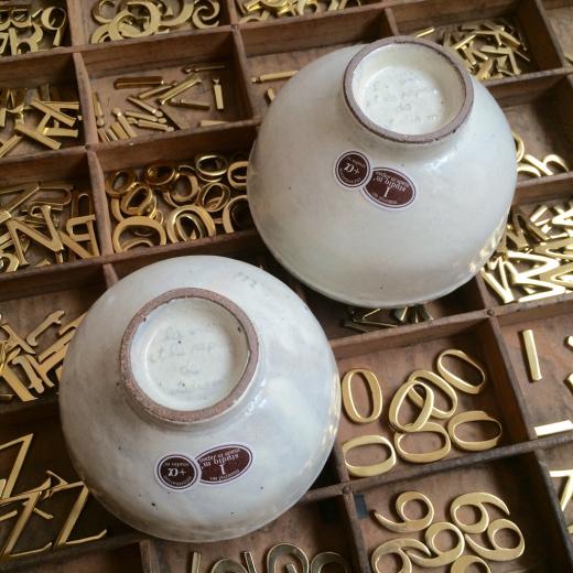 お茶碗と・・・ちいさなお客さま。_a0164280_13443750.jpg